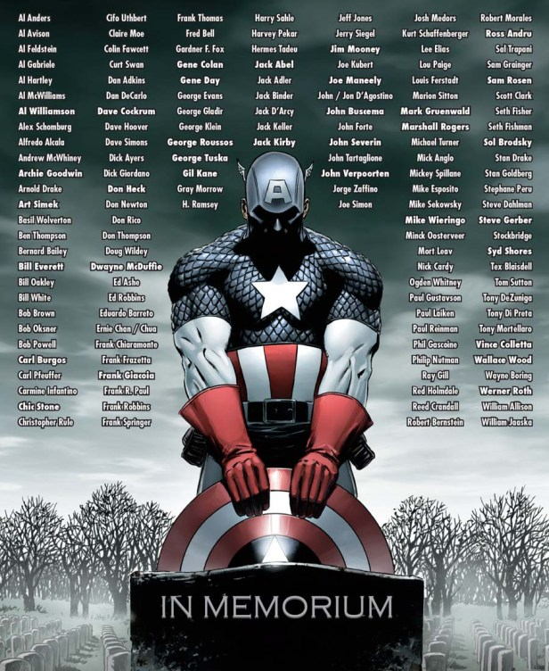 Marvel 75th Anniversary Celebration -in-memoriam