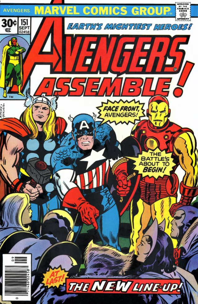 The Avengers 151 Kirby Adkins