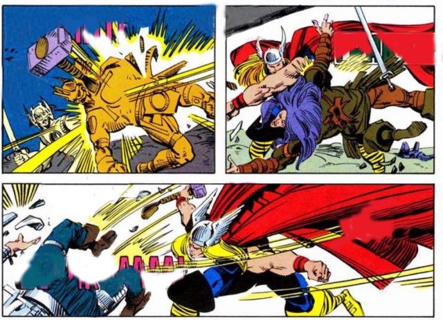 Thor sin onomatopeyas