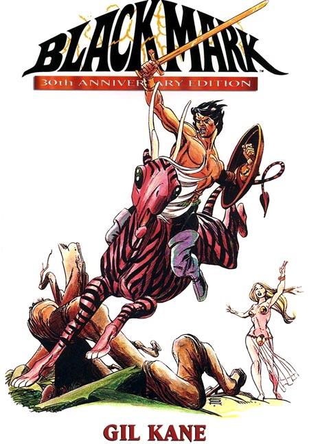 blackmark-gil-kane-fantagraphics-30-anniversary-edition