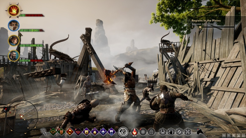 DRAGON AGE INQUISITION PC INTERFACE