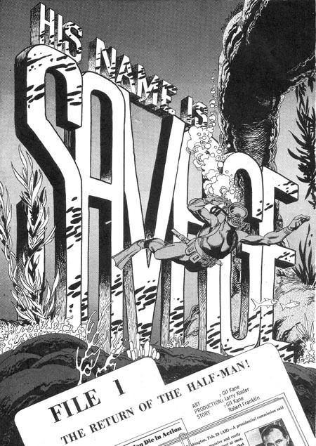 his-name-is-savage_gil-kane_1968