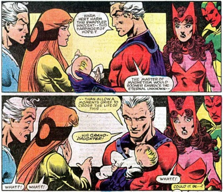 Magneto Extra Superheroes Vision Bruja Escarlata Scarlet Witch