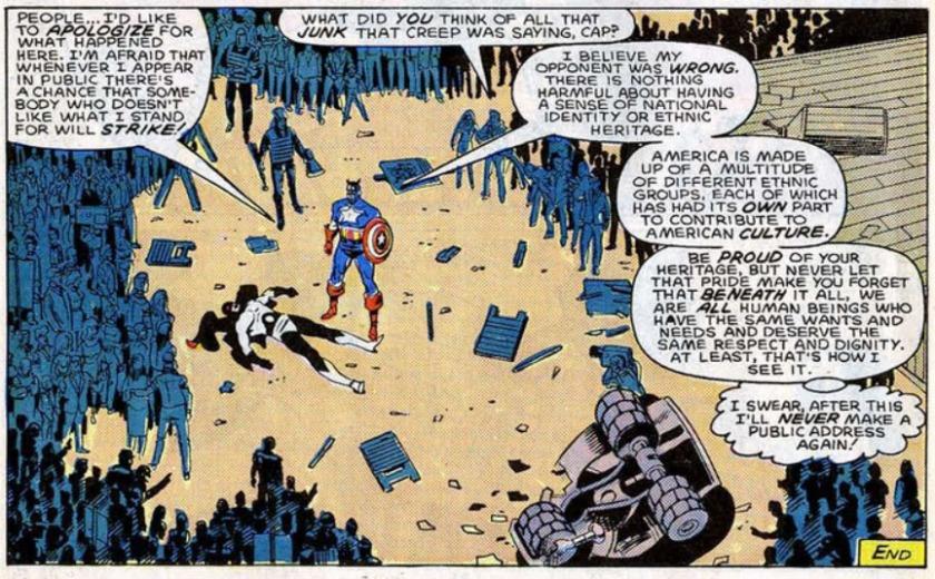 Flag Smasher Captain America Speech 2