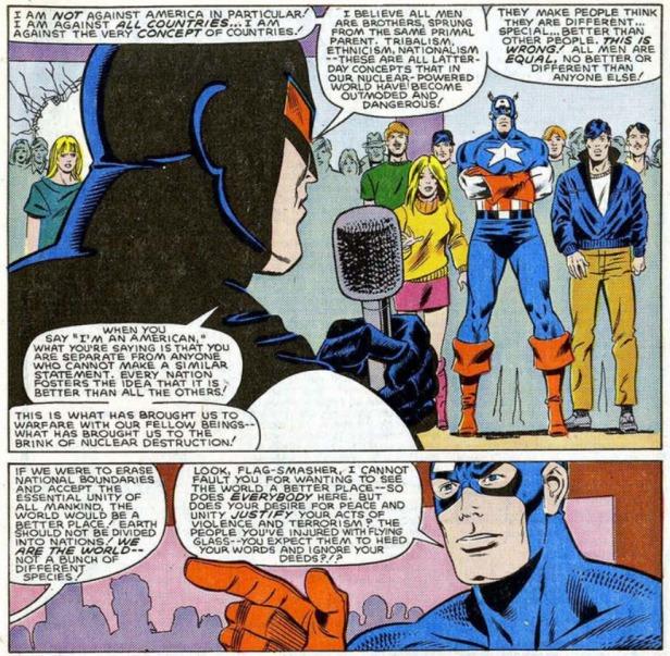 Flag Smasher Captain America Speech