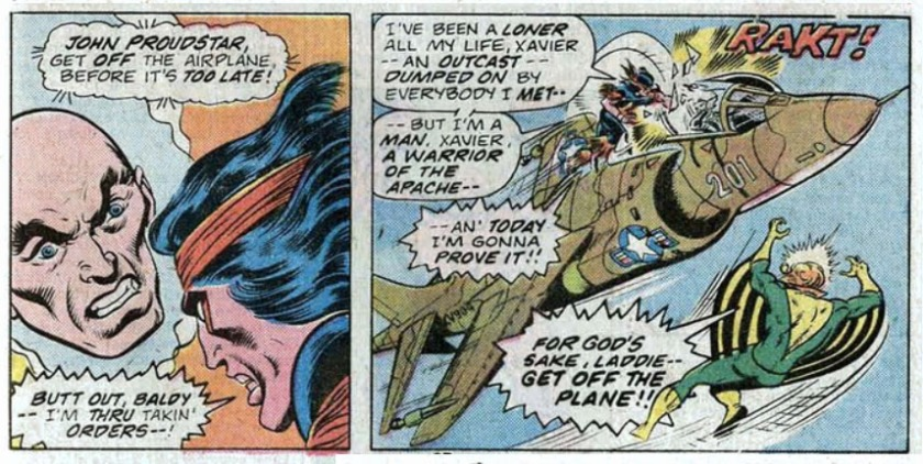 GIANT SIZE X-MEN 1 death thunderbird muerte de ave de trueno