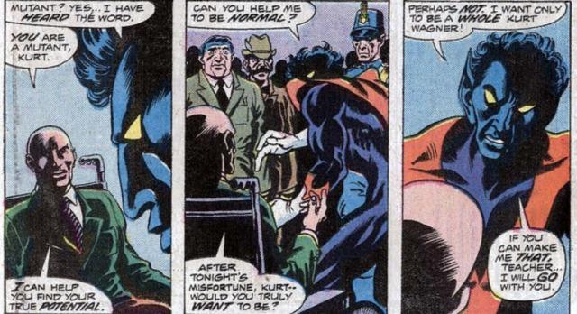 Giant-Size X-men reclutando a rondador nightcrawler 2