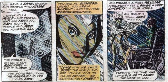 Giant-Size X-men reclutando a tormenta storm 2