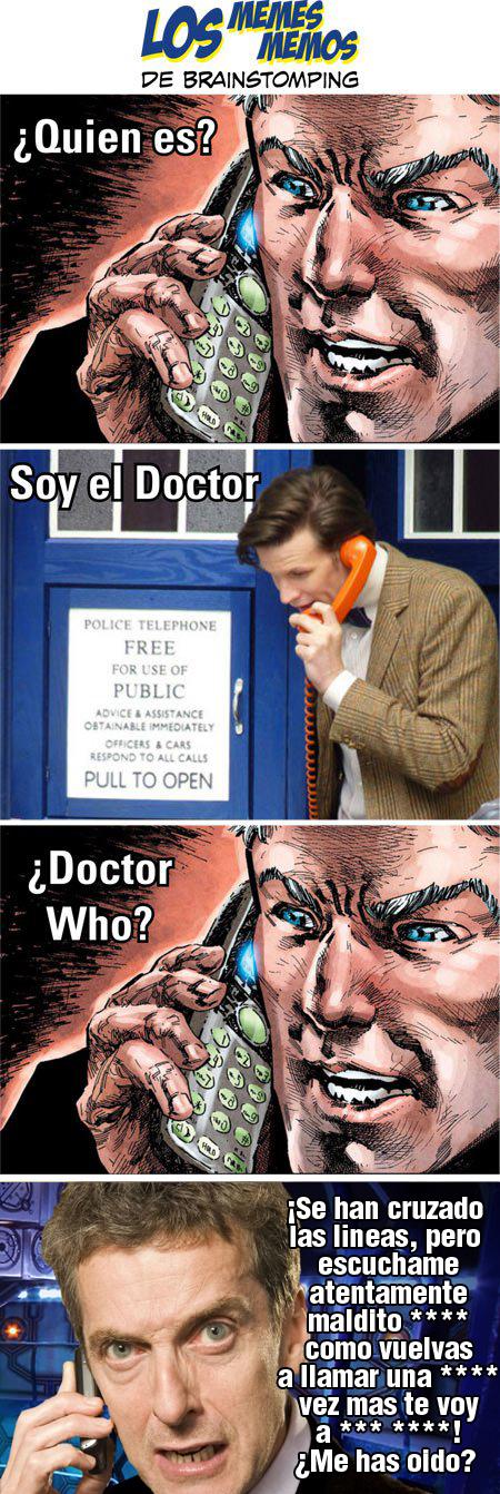 los-memes-memos-de-brainstomping-doctor capaldi