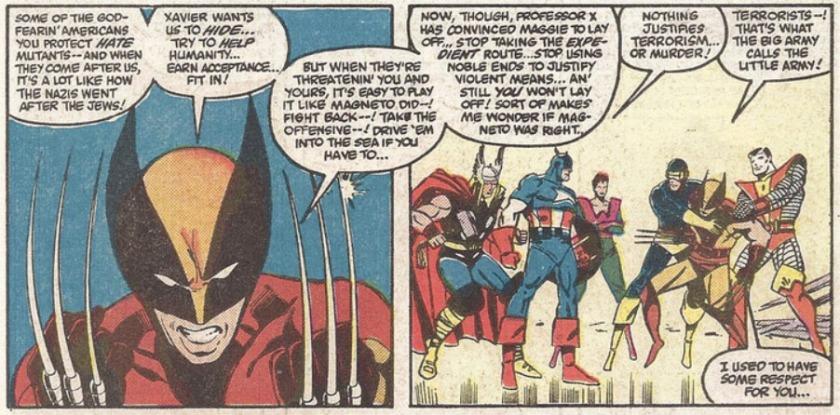 Wolverine Captain America Secret Wars Terrorismo Terrorism terrorist