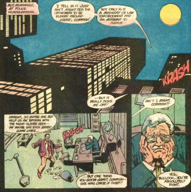 BATMAN 392 Gordon Bullock
