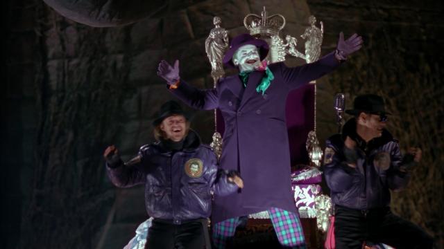 Batman Tim Burton Joker finale