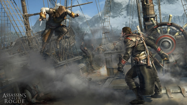 Assassin's Creed Rogue Asesinos vs templarios
