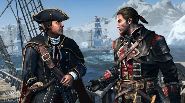Assassin's Creed Rogue shay haytham templarios