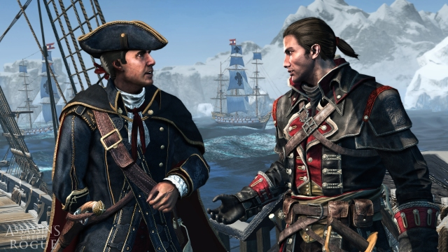 Assassin's Creed Rogue shay haytham templarios