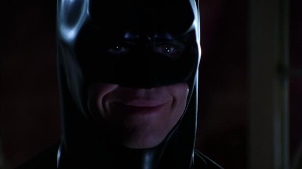Batman Forever Batman smiling