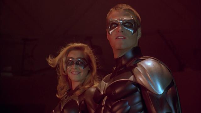 Batman & Robin Batgirl