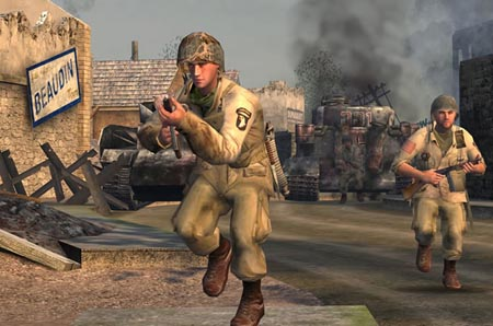Call_of_Duty-Capt.Foley_&_Sgt.Moody_in_Ste-Mere_Eglise