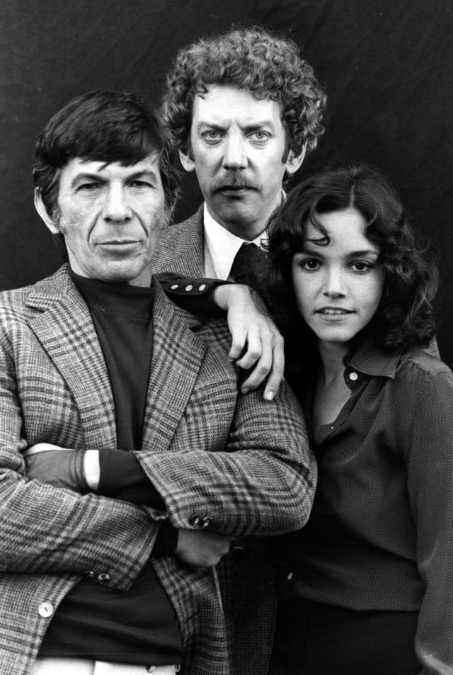 leonard nimoy donald sutherland brooke adams don siegel invasion of the body snatchers 1978 large picture