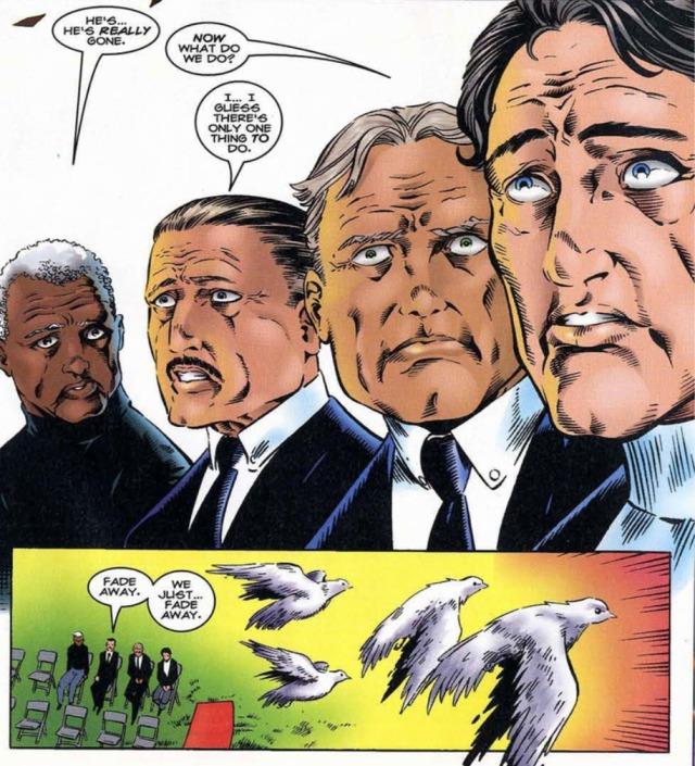 Nick Fury Dead Howling Commandos Hulk 425 Peter David oops