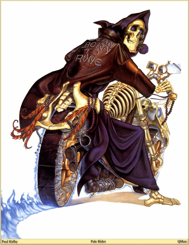 Pale Raider Death Discworld Mundodisco Terry Prattchett