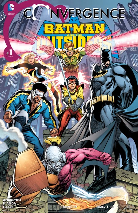 Convergence - Batman and the Outsiders