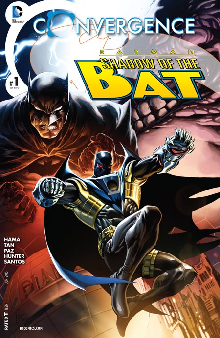 Convergence- Batman - Shadow of the Bat