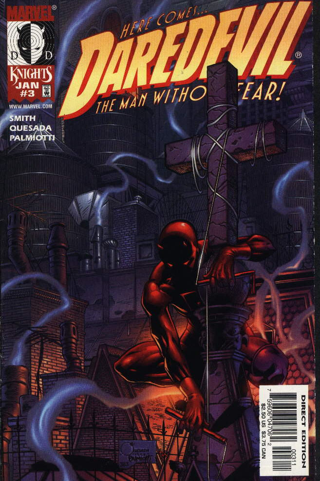 Daredevil 3 Marvel Knights Devil Guardian
