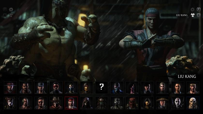 Mortal Kombat X Goro Liu Kang