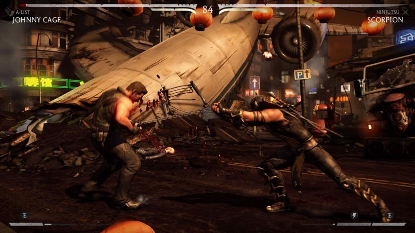 Mortal Kombat X Scorpion Johnny Cage