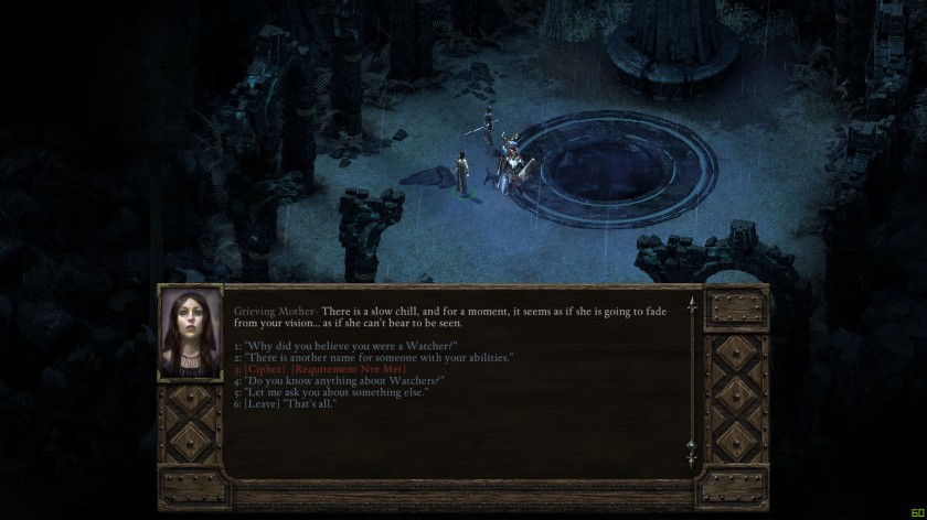 Pillars of Eternity Grieving Mother RPG