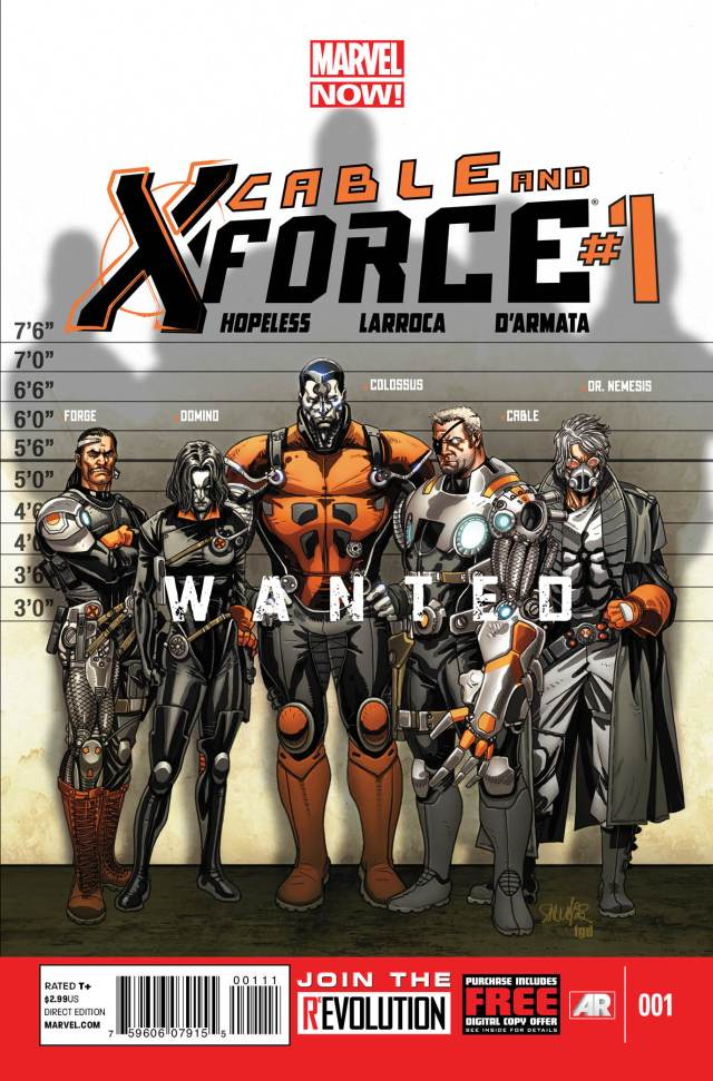 Cable And X-Force Hopeless Larroca