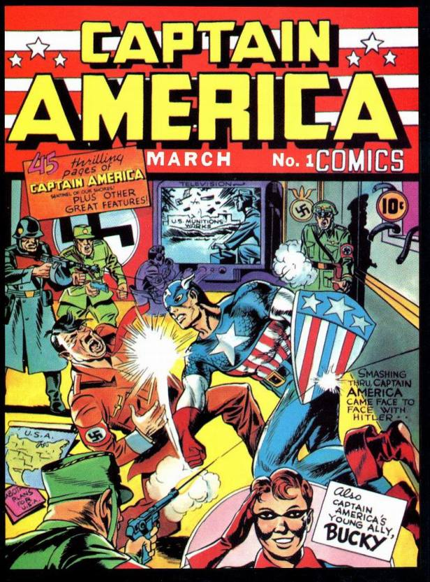 Captain America Comics 1