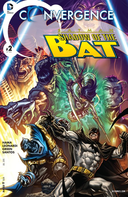Convergence- Batman - Shadow of the Bat 2