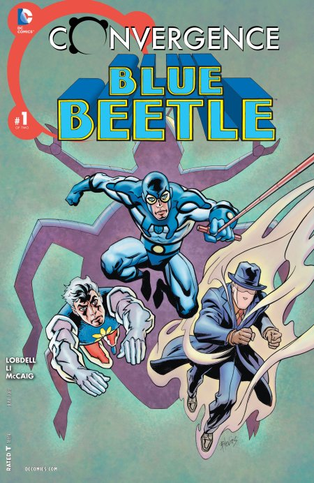 Convergence - Blue Beetle