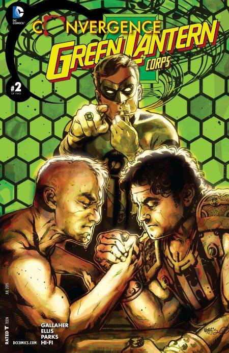 Convergence - Green Lantern Corps2