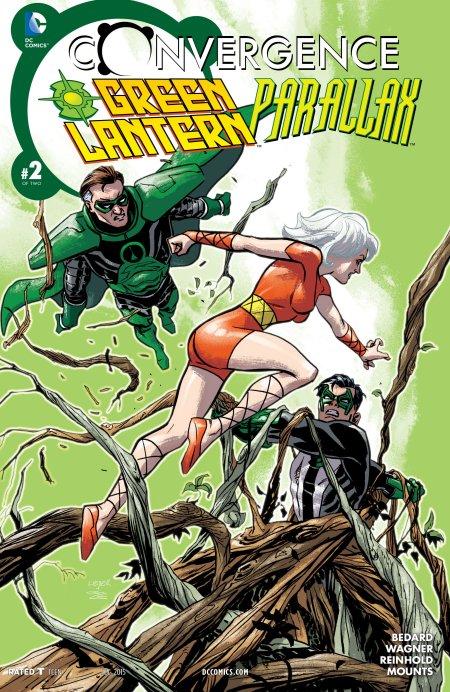 Convergence - Green Lantern Parallax2