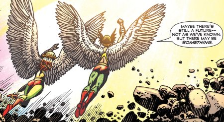 Convergence - Hawkman -end