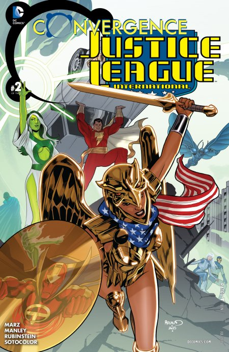 Convergence - Justice League International2