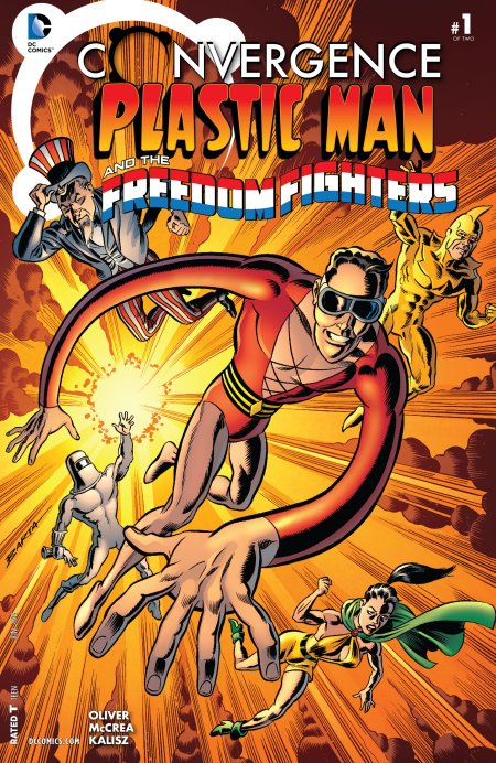 Convergence - Plastic Man and the Freedom Fighters
