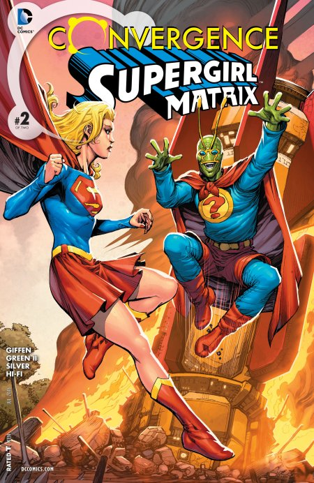 Convergence - Supergirl Matrix2