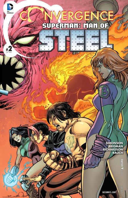 Convergence- Superman - Man of Steel2