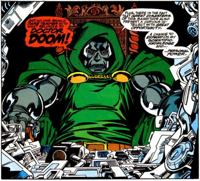 Doctor Doom Infinity Gauntlet