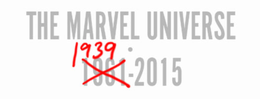 Marvel Universe death 1939 2015