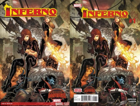 Secret Wars Inferno censura puritanism