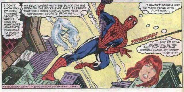 Amazing Spider-Man 260 Mary Jane Black Cat