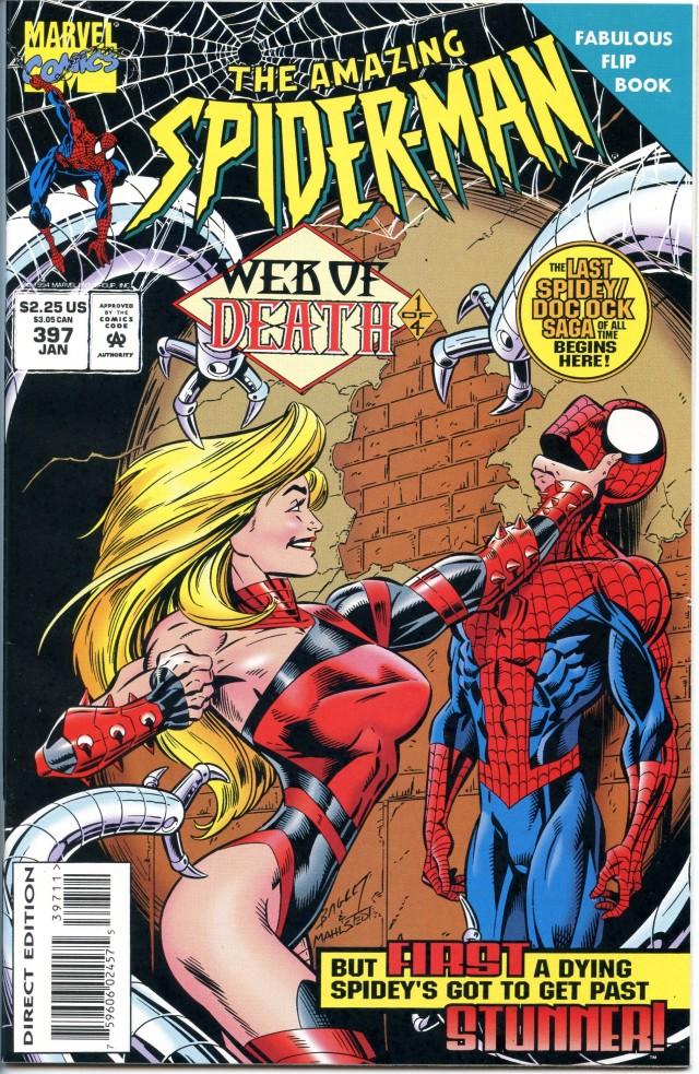 amazing spiderman 397