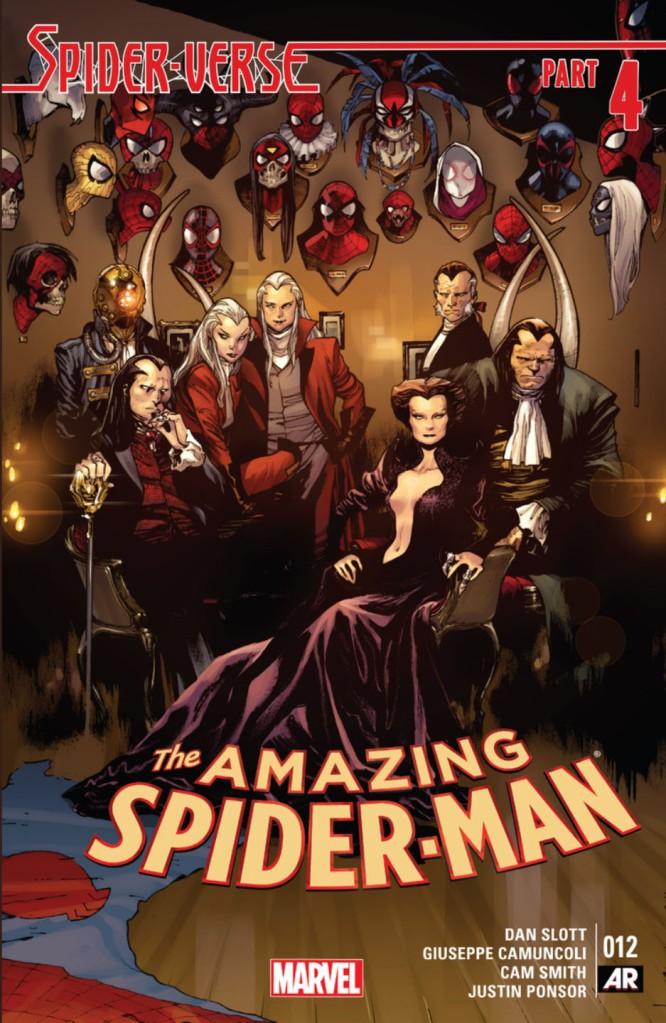 amazing spiderman v3 12 Spiderverse