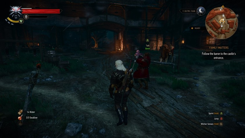 Blood Baron Witcher 3