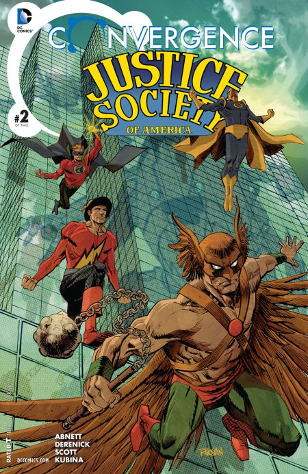 Convergence - Justice Society of America2